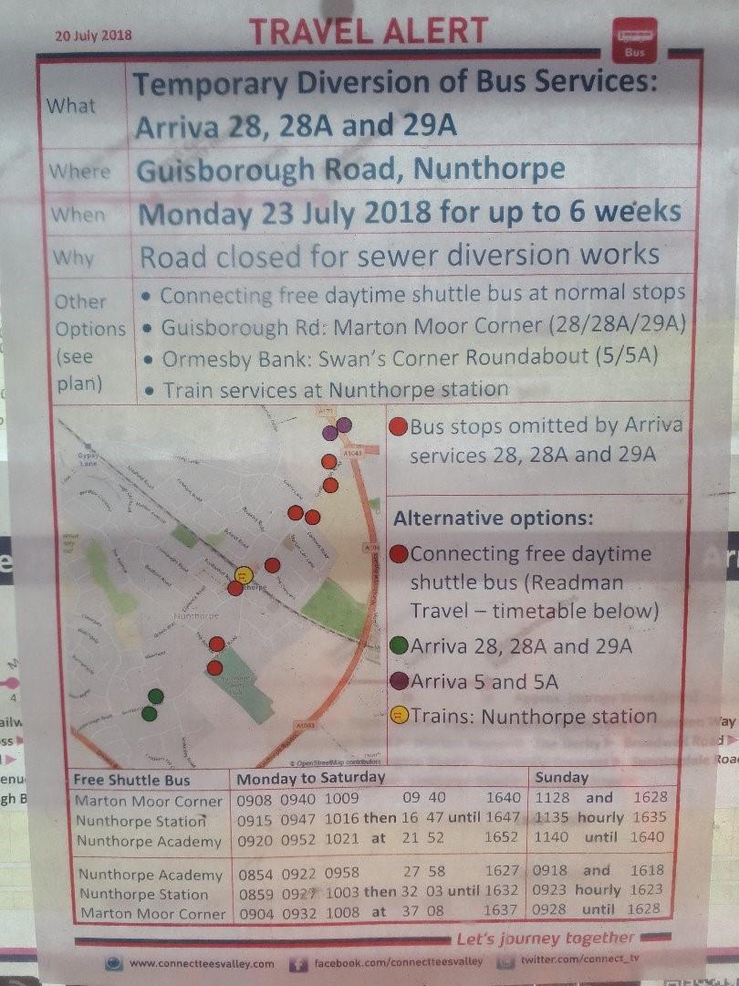 Activity - Guisborough Road, Nunthorpe - Northumbrian Water